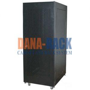 Tủ Rack 27U-D1000 Màu Đen – Cửa Lưới