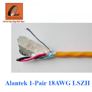 Alantek 1-Pair 18AWG LSZH