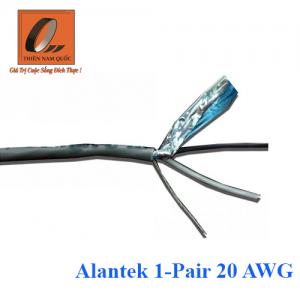 Cáp âm thanh/ điều khiển Alantek 1-Pair 20 AWG
