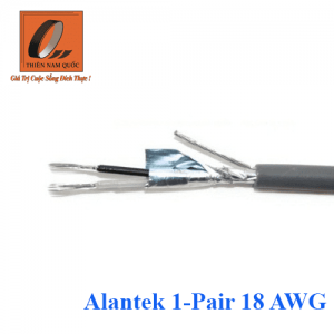 Cáp âm thanh/điều khiển Alantek 1-Pair 18 AWG (305m/rl)