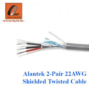 Alantek 2-Pair 22AWG Shielded Twisted Cable