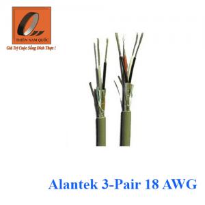 Alantek 3-Pair 18 AWG
