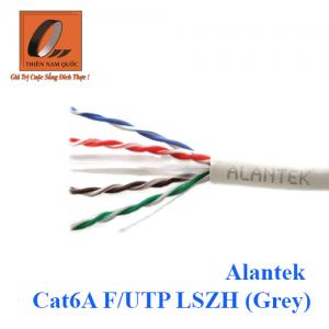 Cáp mạng Alantek Cat6A F/UTP LSZH (Grey)