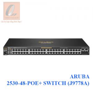 ARUBA 2530-48-POE+ SWITCH (J9778A)