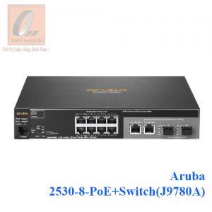 Aruba 2530-8-PoE+Switch(J9780A)