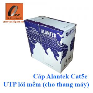 Cáp Alantek Cat5e UTP lõi mềm (cho thang máy)