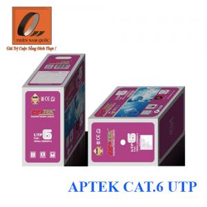 Cáp mạng APTEK CAT.6 UTP