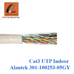 Cáp mạng Cat3 UTP Indoor Alantek 301-100253-05GY