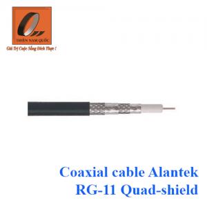 Coaxial cable Alantek RG-11 Quad-shield