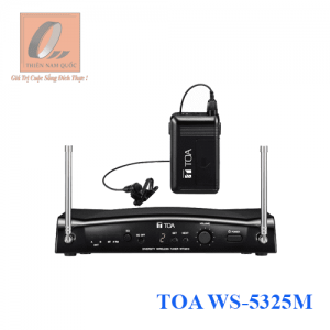 Bộ micro cài áo không dây UHF TOA WS-5325M