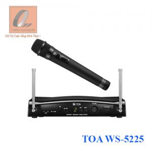 Bộ micro cầm tay không dây UHF TOA WS-5225