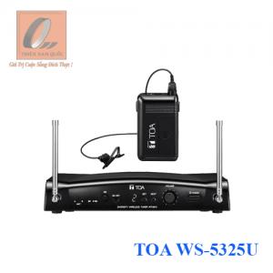 Bộ micro không dây cài áo TOA WS-5325U