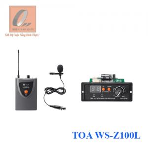 Bộ micro không dây cài áo TOA WS-Z100L