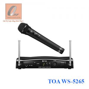 Bộ micro không dây cầm tay TOA WS-5265