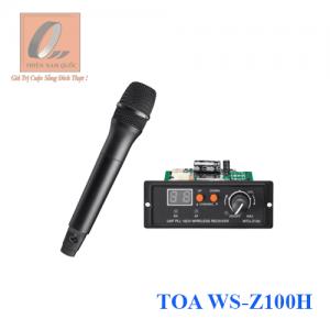 Bộ micro không dây cầm tay TOA WS-Z100H